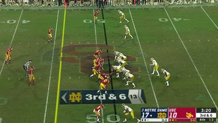 No. 3 Notre Dame Completes Perfect Regular Season With Win Over USC