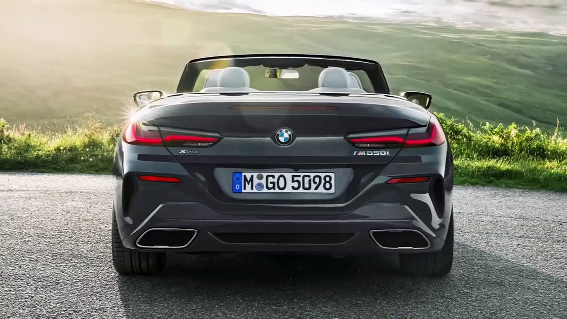 2019 Bmw 8 Series Convertible Interior Exterior Video Dailymotion