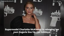 Charlotte McKinney Creates New Lingerie Line For The Holidays