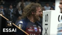 TOP 14 - Essai Fabien ALEXANDRE (FCG) - Racing 92 - Grenoble - J10 - Saison 2018/2019