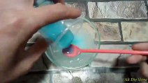 How To Make Oil Clear Glue Slime !! No Coloring! Without Borax