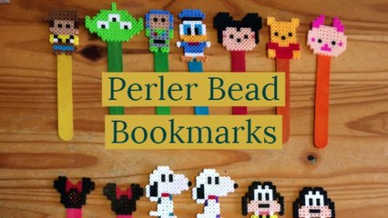 Perler Bead Bookmarks!!!