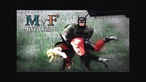 Harley Quinn vs Batman | MvF Mixed Fights