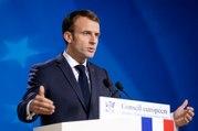 Conférence de presse du Président de la République Emmanuel Macron au sommet extraordinaire sur le Brexit
