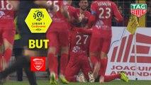 But Hervé LYBOHY (70ème) / RC Strasbourg Alsace - Nîmes Olympique - (0-1) - (RCSA-NIMES) / 2018-19