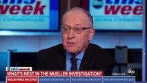 Alan Dershowitz Predicts Mueller Report Will Be 'Devastating' For Trump