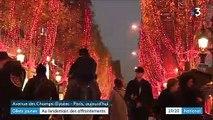 """""""Gilets jaunes"""" : visite des Champs-Élysées au lendemain des affrontements"""