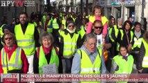 HPyTv Tarbes | 3 000 Gilets Jaunes défilent à Tarbes (24 nov 18)