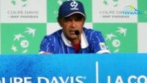 """Coupe Davis 2018 - Les regrets de Yannick Noah, c'est Gaël Monfils : """"Je n'ai pas trouvé les clés pour aider Gaël Monfils"""""""