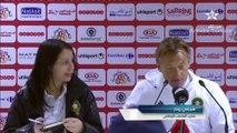 [Tunisie vs Maroc] Hervé Renard félicite l'Espérance de Tunis pour le Sacre Africain et encense Aymen Ben Mohamed