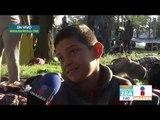 Migrantes centroamericanos en la Ciudad Deportiva Magdalena Mixhuca | Noticias con Francisco Zea