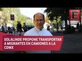 Padre Alejandro Solalinde pide apoyo para trasladar a migrantes