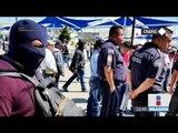 Policías fueron retenidos y amarrados por manifestantes en la carretera | Noticias con Ciro
