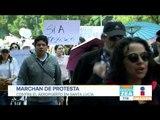 Habitantes de la CDMX marcharon contra el aeropuerto en Santa Lucía   Noticias con Francisco Zea