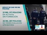 Hacen falta policías en México | Noticias con Francisco Zea