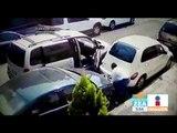 Captan en video a ladrón de autopartes en la colonia Condesa   Noticias con Francisco Zea