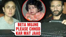 Kareena Kapoor EMOTIONAL On Taimur Ali Khan Going To Boarding School