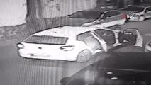 Kağıthane'de Sokak Ortasında Kurşun Yağdıran 'Şehir Magandaları' Kamerada