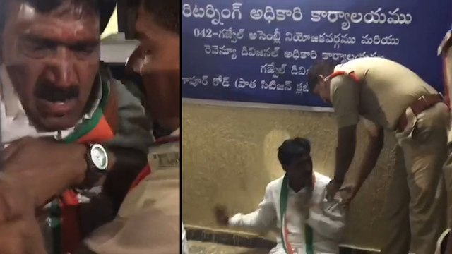 Telangana Elections 2018: ఎన్నికల వేడి.. ఆసుపత్రిలో కాంగ్రెస్ అభ్యర్థి వంటేరు | Oneindia Telugu