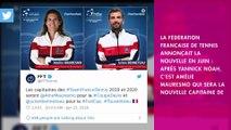 Amélie Mauresmo capitaine de l'équipe de France : Yannick Noah réagit