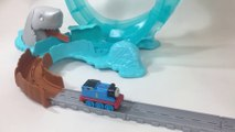 THOMAS & FRIENDS Adventures Shark Escape Train Fisher Price Learn Preschool STEM || Keith's Toy Box