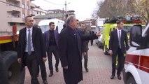 Milli Savunma Bakanı Hulusi Akar Kaza Alanında
