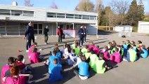 Foot à l'école : Gaêtane Thiney de retour au Collège I FFF 2018