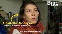 Un collectif belge lutte contre le mobilier urbain anti-SDF de Bruxelles
