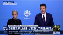 """Gilets Jaunes: Benjamin Griveaux décrit """"des scènes de guerre"""" à Paris"""