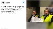 Saint-Malo. Un gilet jaune porte plainte contre le gouvernement.