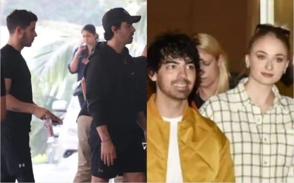 Sophie Turner, Joe Jonas reach Mumbai for Priyanka Chopra-Nick Jonas wedding