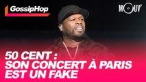 50 Cent : Son concert à Paris est un fake
