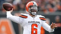 Burleson on Baker Mayfield: Browns fans have their QB set for the future
