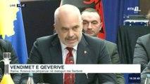 Ora News - Rama: Sot është koha të vëmë 100 % tarifa në veri dhe 0 % në jug të Kosovës