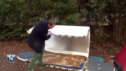 Des igloos de survie seront distribués aux sans-abri de Paris