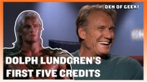 First Five: Dolph Lundgren Remembers His First Five Credits