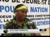 ORTM/L'alliance des femmes chrétiennes pour le développement organise3 joursde  jeûne et de prière pour la nation malienne avec pour Thème - femme gage de la paix et desécuritéàbamako
