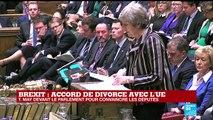 REPLAY - Brexit : Theresa May devant le Parlement pour convaincre les députés