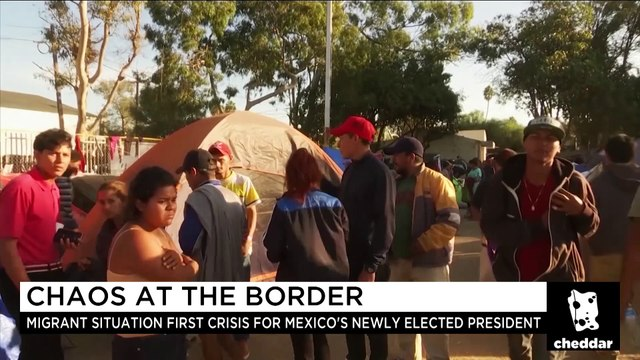 Migrants Clash With Authorities at Border