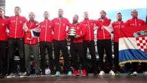 Hurras a los campeones de Copa Davis en Zagreb