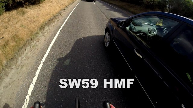 SW59HMF - Close pass with outer lane available- B979 South Lasts, Aberdeen