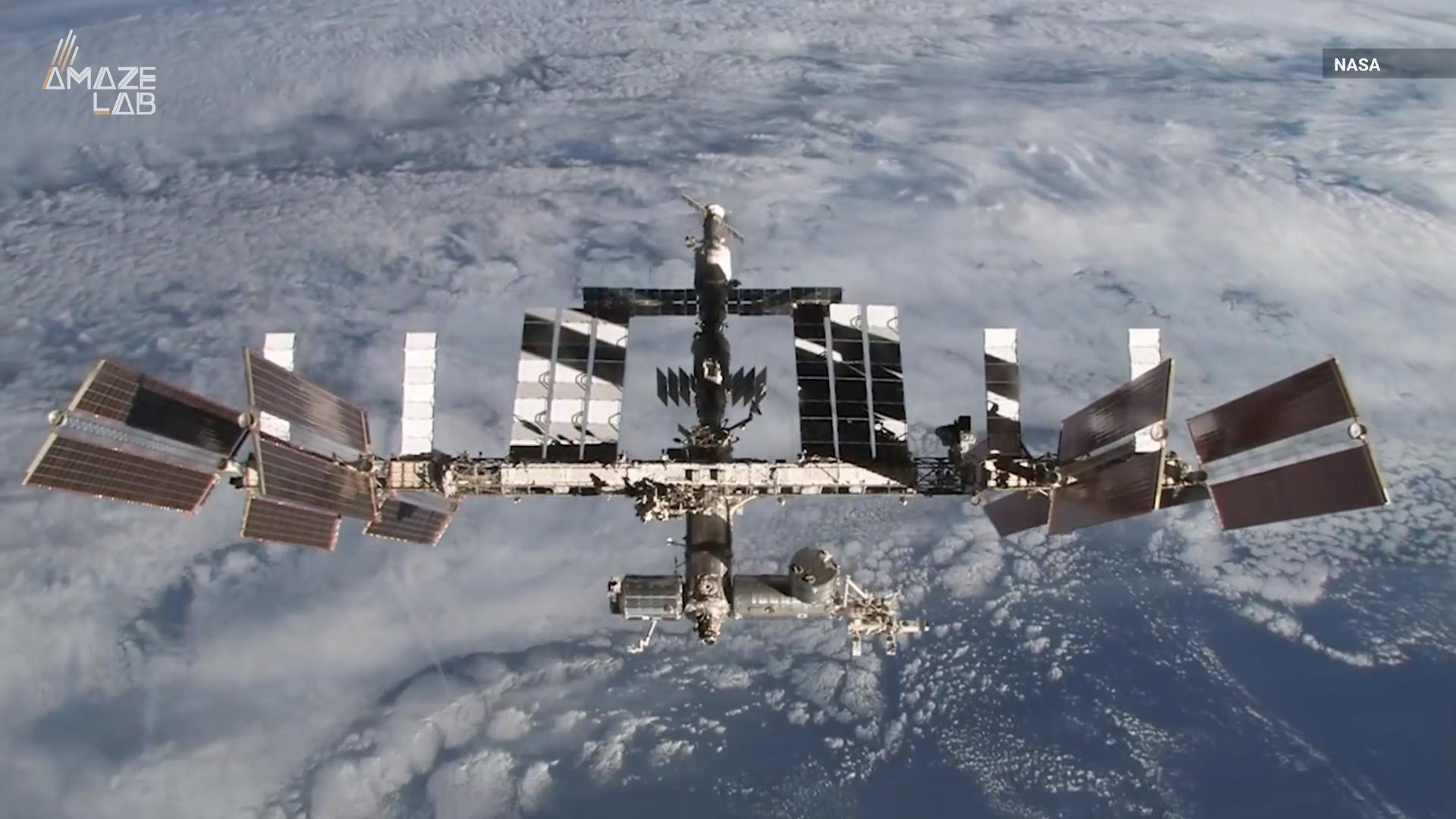 Drug-Resistant Bacteria Found Inside the International Space Station