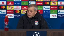Lyon talk and train ahead of UCL match against Manchester City