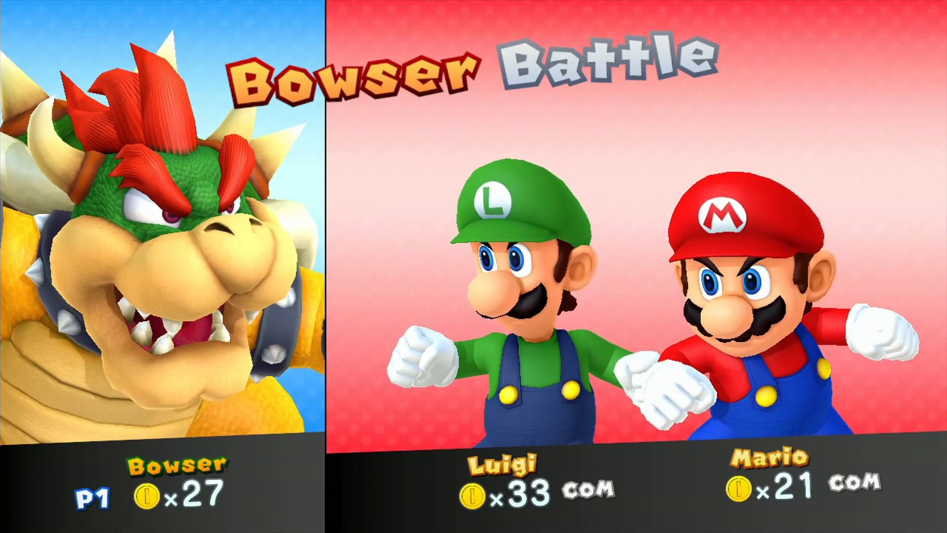 Mario Party 10 Amiibo Party Bowser Vs Mario Luigi Multi Board Gameplay
