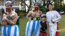 Aamir Khan & Kiran Rao dress up as Obelix and Getafix for son Azad Rao Khan's theme party   Boldsky