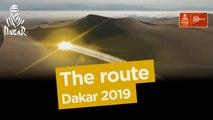 The route / El recorrido / Le parcours - Dakar 2019