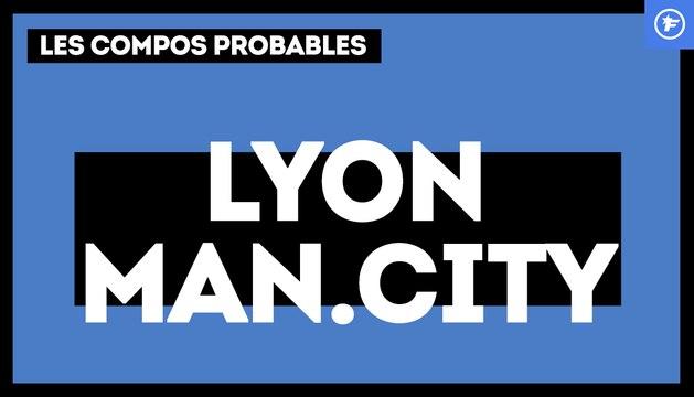 OL-Manchester City : les compos probables