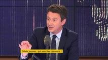 """Benjamin Griveaux aurait """"aimé que Jean-Luc Mélenchon"""" réagisse à une intrusion chez une députée LREM"""