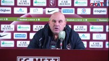 J15 - La réactions des entraineurs après FC Metz / Gazélec Ajaccio (1-0) !