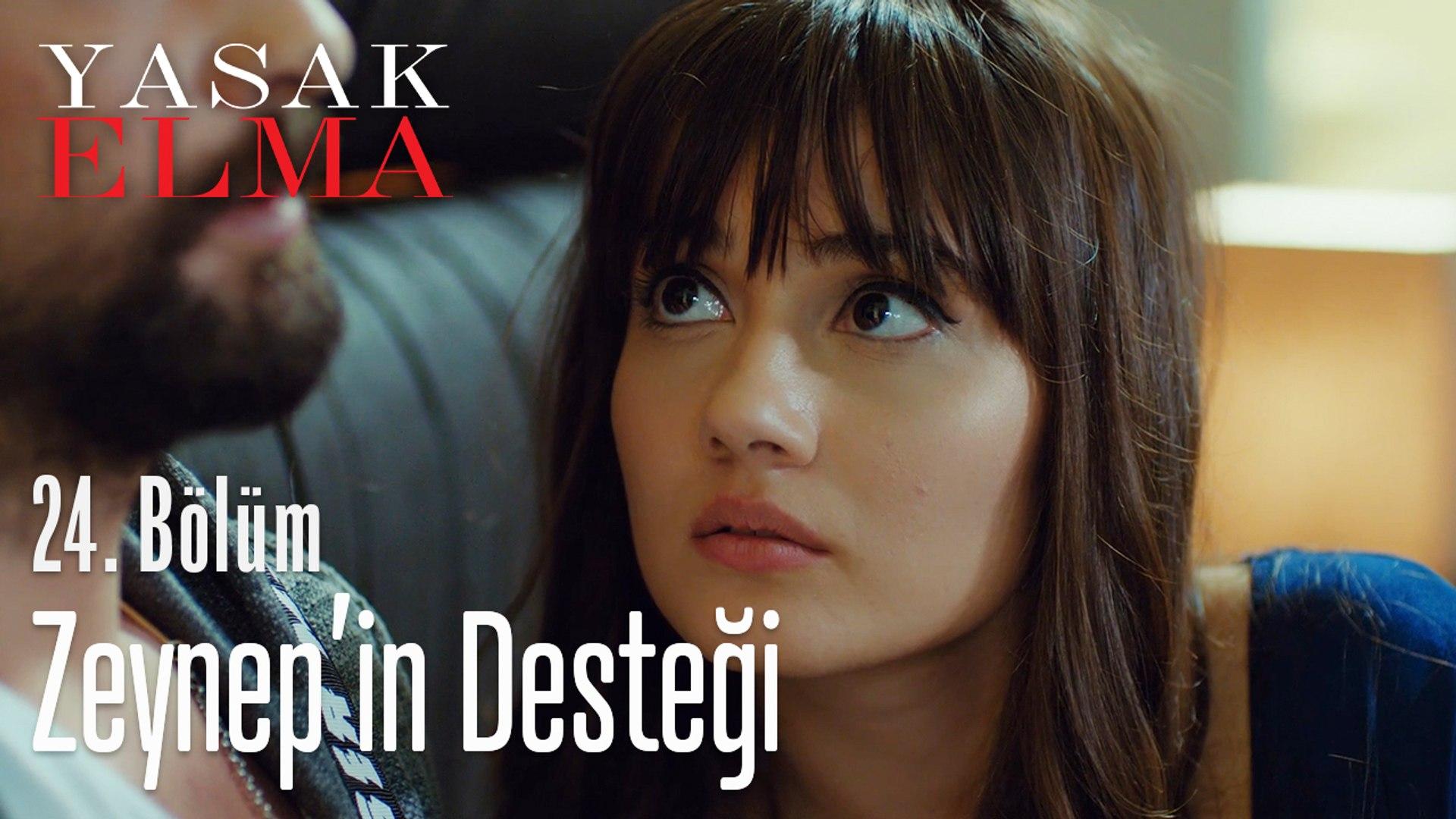 Zeynep Alihan'a destek oluyor - Yasak Elma 24. Bölüm